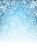Vector illustration of Christmas Winter Background