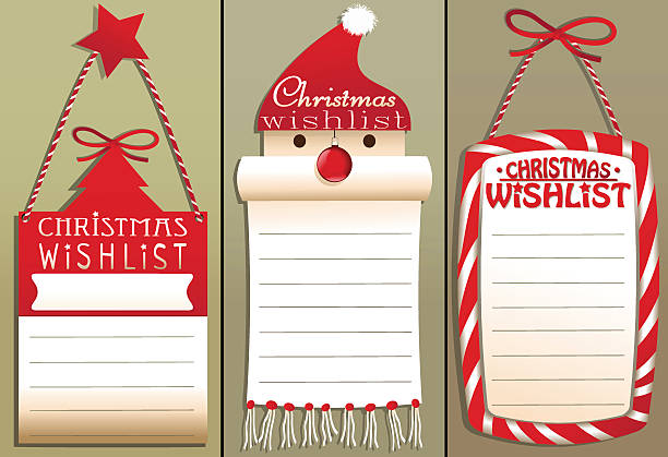 Best Wish List Illustrations, Royalty-Free Vector Graphics ...
