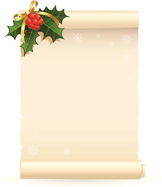 Royalty Free Christmas List Clip Art, Vector Images ...