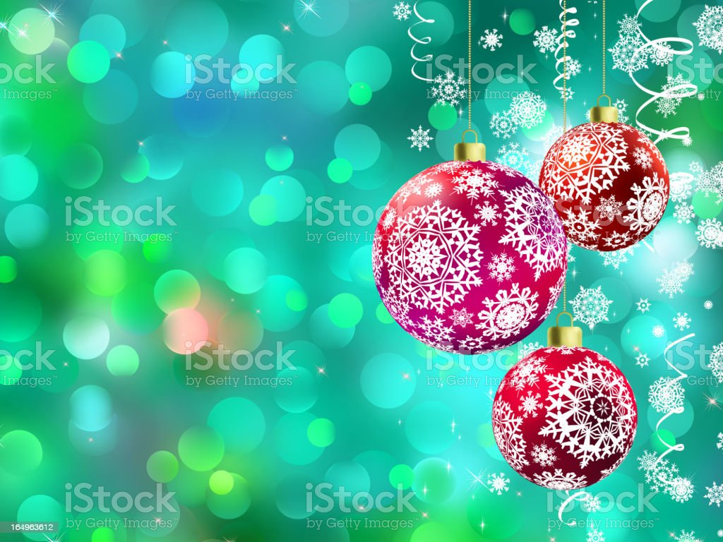 Christmas with multicolor baubles. EPS 8 royalty-free christmas with multicolor baubles eps 8 stock vector art & more images of backdrop
