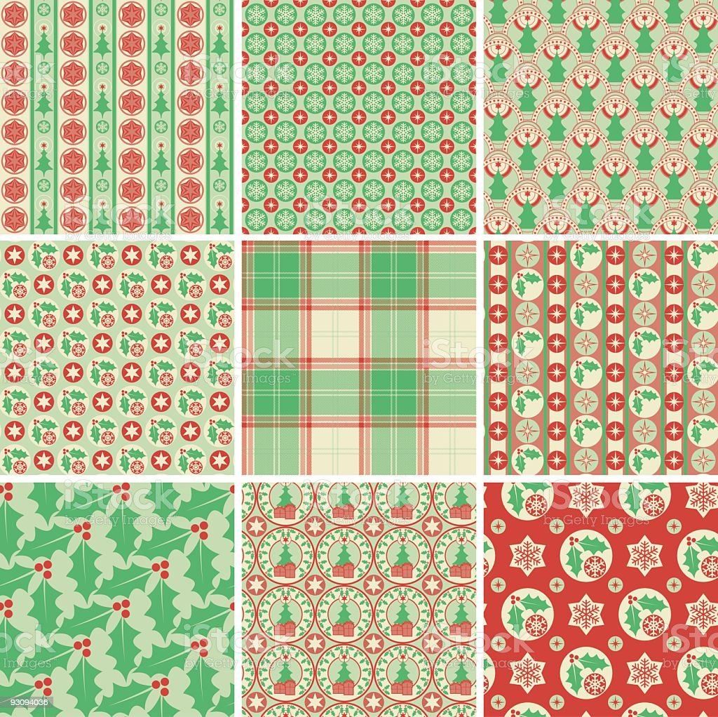 Christmas wrapping paper royalty-free christmas wrapping paper stock vector art & more images of backgrounds