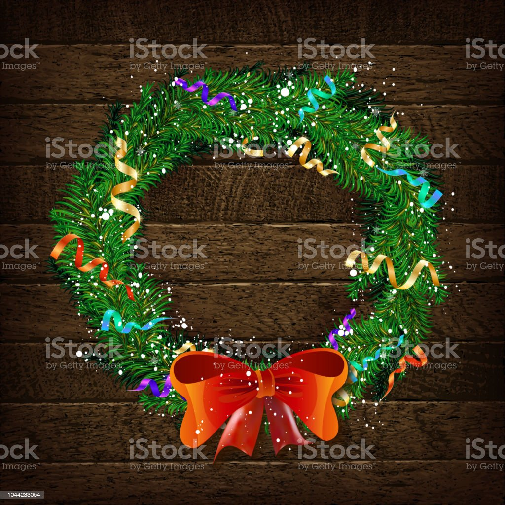 christmas wreath template 2019 stock vector art more images of
