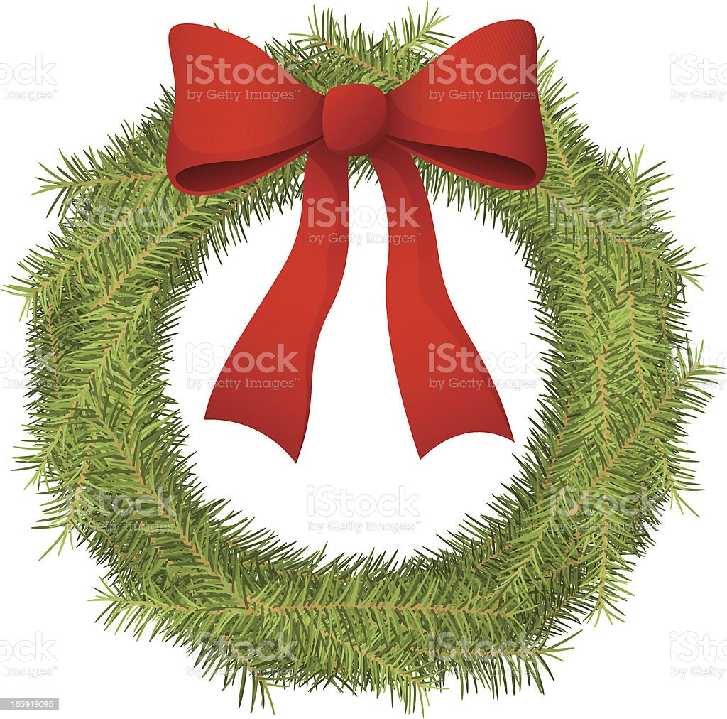 Christmas Wreath royalty-free christmas wreath stock vector art & more images of celebration event