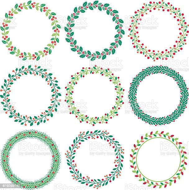 Christmas wreath vector id619269142?b=1&k=6&m=619269142&s=612x612&h=pxseaygnokwwkmvleo8 jh7snfu4e7kku9pnsqpvjzg=