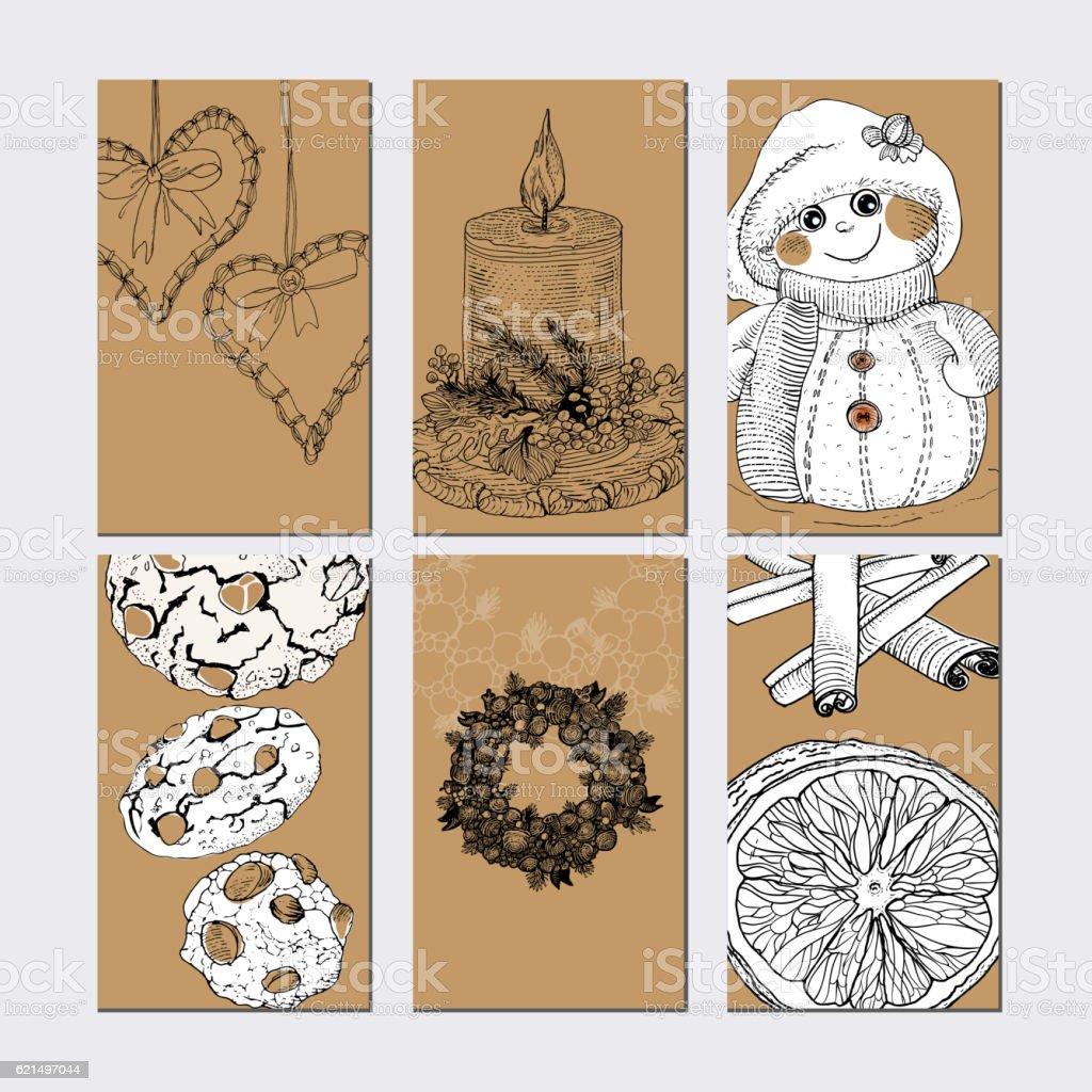 Christmasgolden tags set christmasgolden tags set – cliparts vectoriels et plus d'images de arbre libre de droits