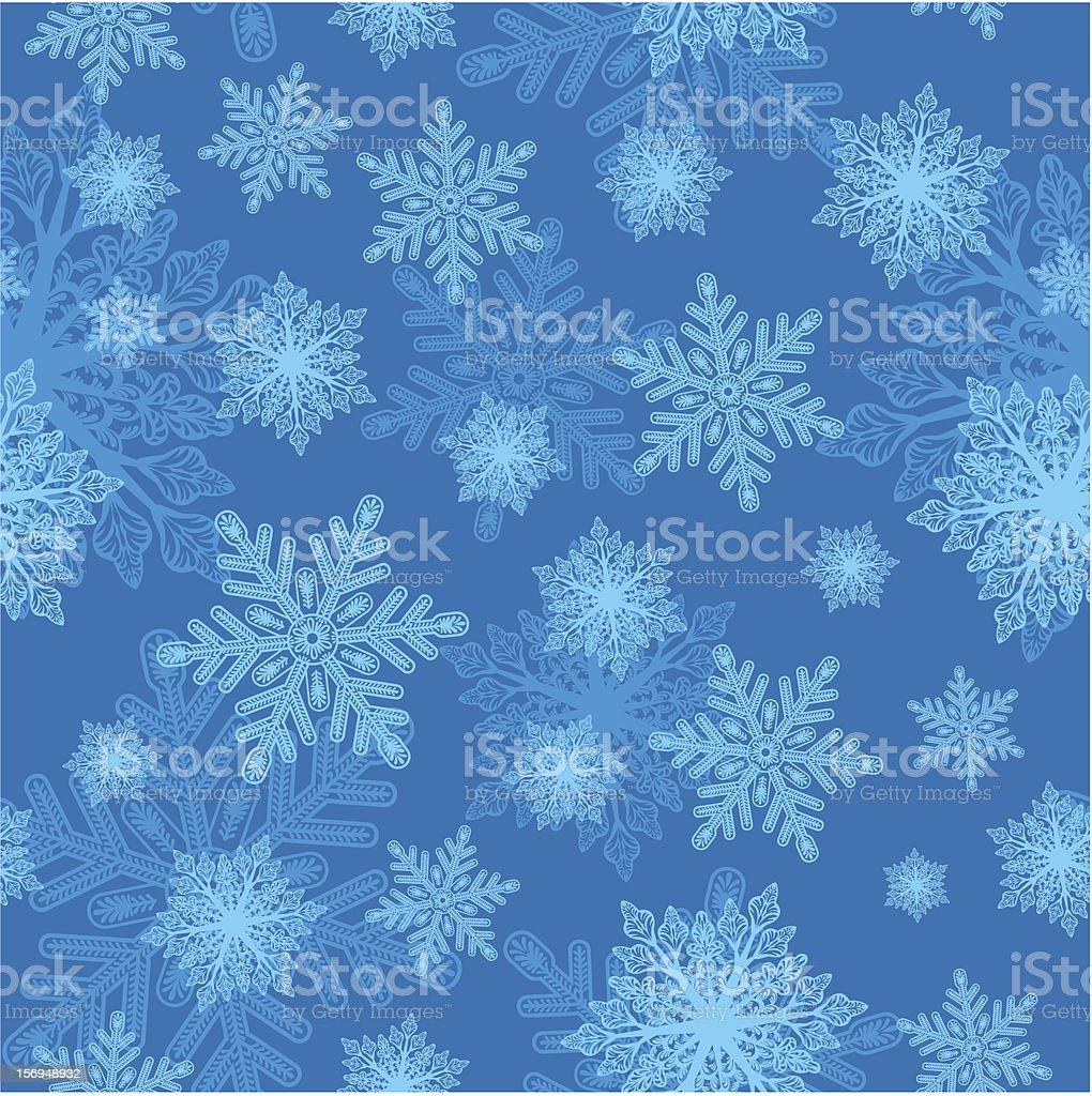 Christmass Seamless Background vector art illustration