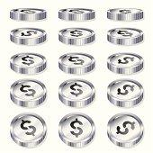 Chrome Coins -Tokens