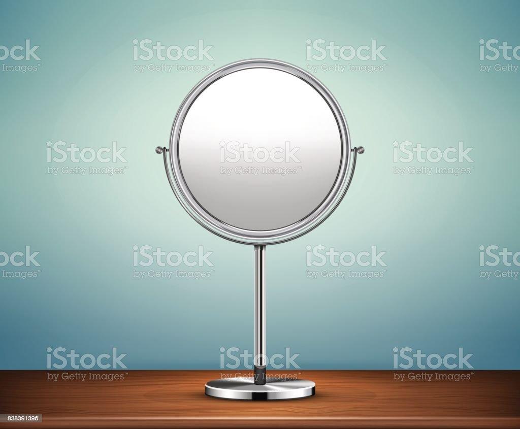 Make Up Spiegel : Chrome makeupspiegel stock vektor art und mehr bilder von