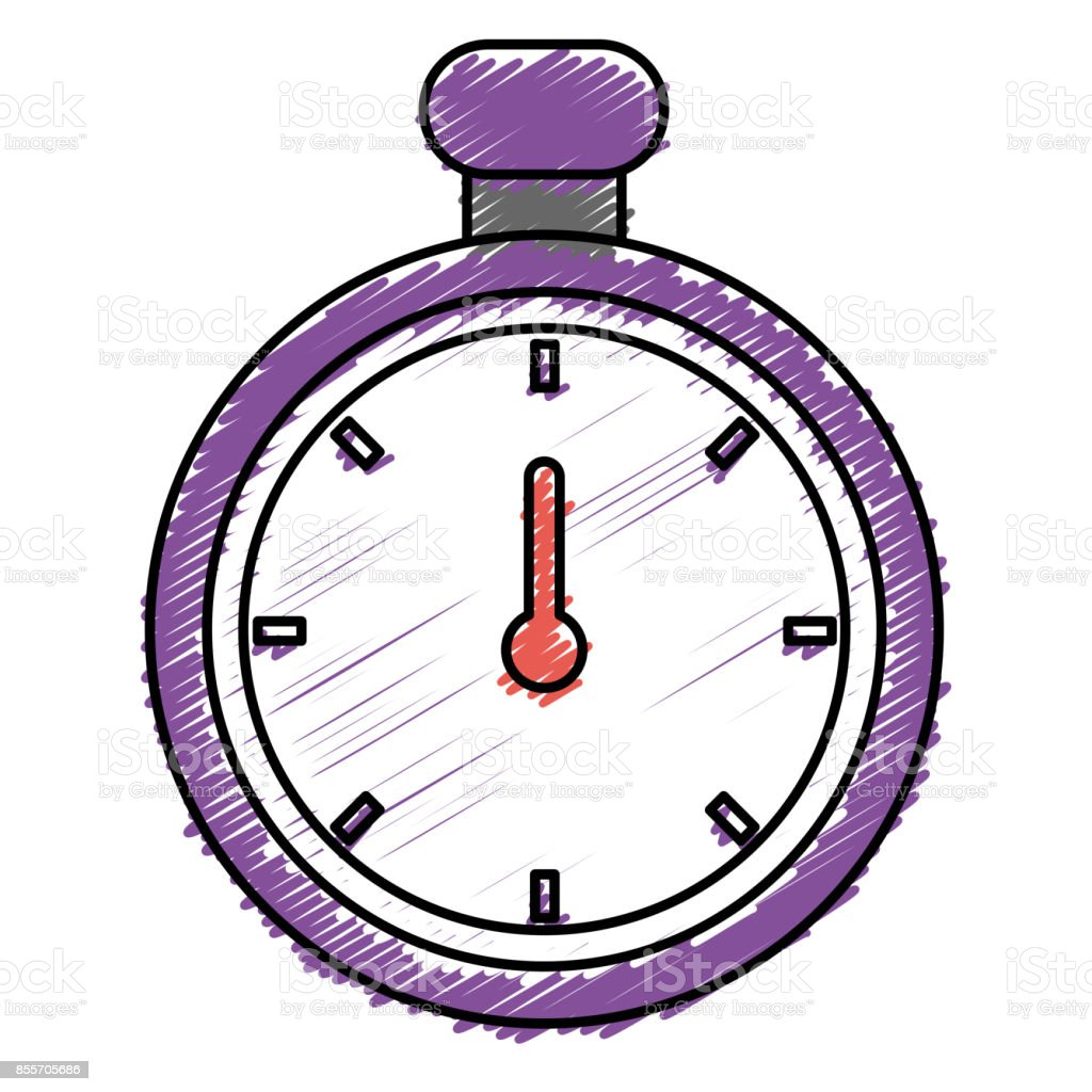 chronometer timer isolated icon stock vector art 855705686 istock rh istockphoto com Cartoon Digital Clock Blank Clock Clip Art