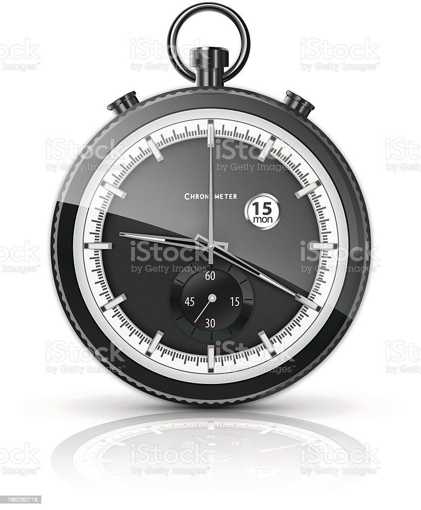 chronometer royalty-free stock vector art