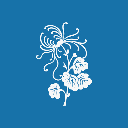 Chrysanthemum(China paper-cut patterns)-02