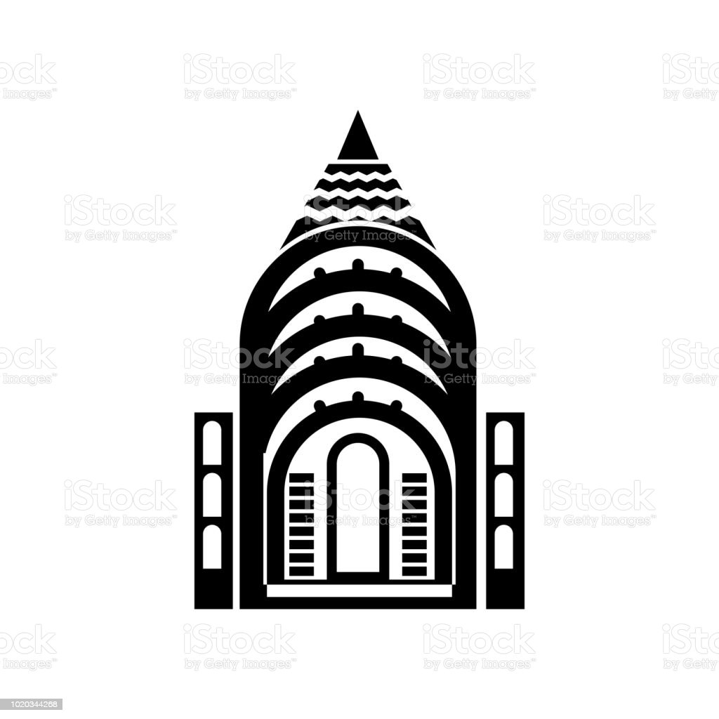 chrysler building vector