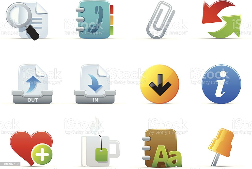 chubby icons royalty-free chubby icons stock vector art & more images of address book