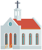 Church Building Vector Icon