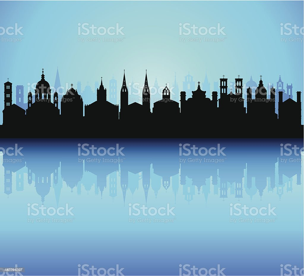Churches (Each Building is Complete and Moveable) royalty-free churches stock vector art & more images of architecture
