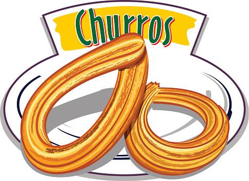 Churros vector
