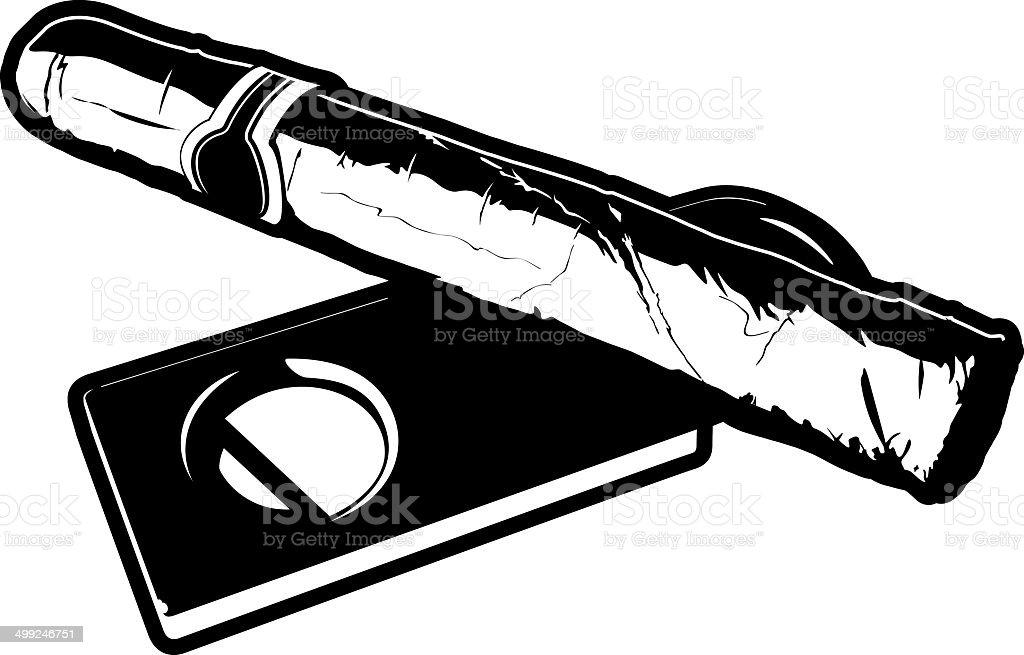 royalty free cigar cutter clip art vector images illustrations rh istockphoto com free cigar clip art cuban cigar clipart