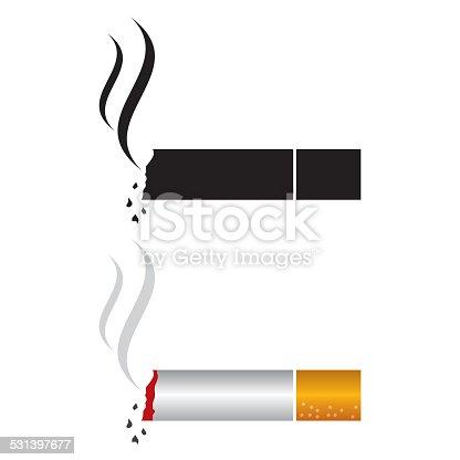 istock cigarette icon 531397677
