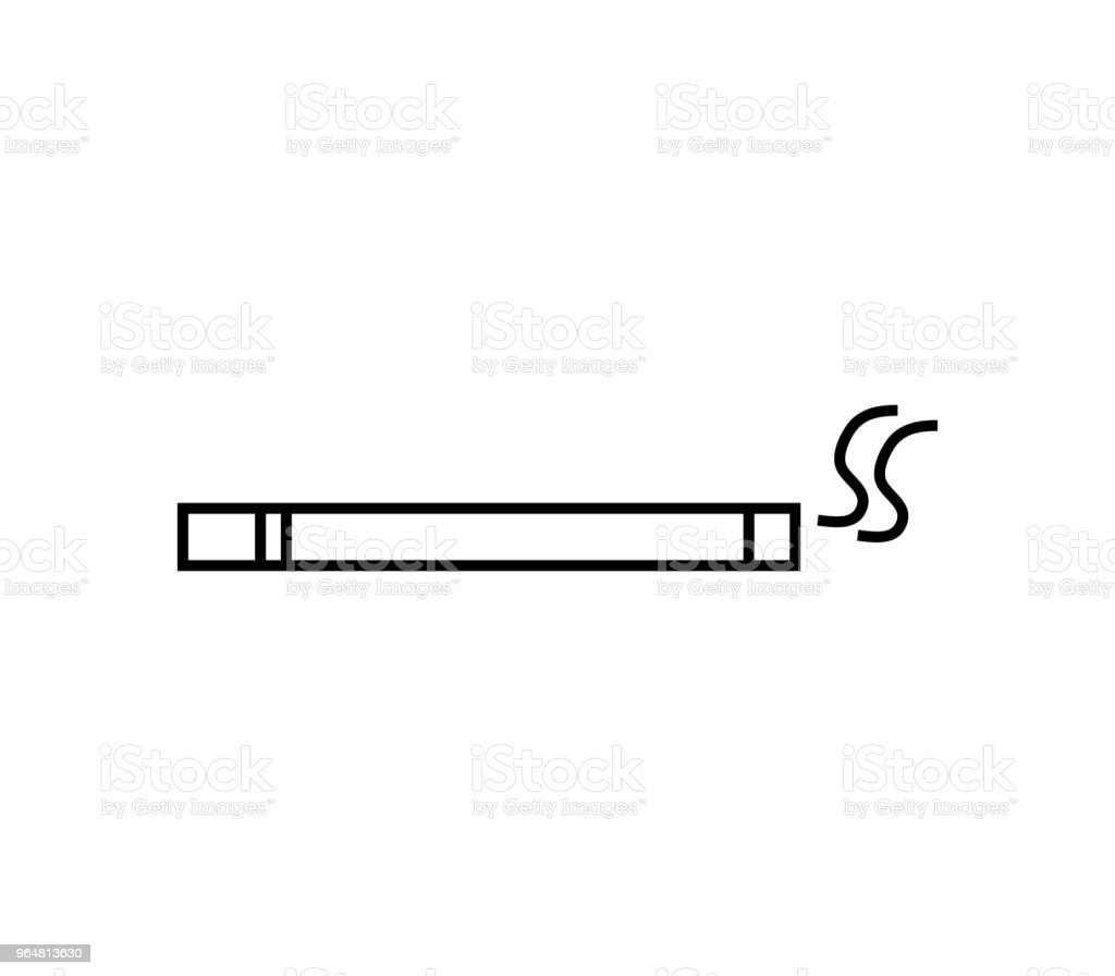 cigarette icon royalty-free cigarette icon stock vector art & more images of addiction