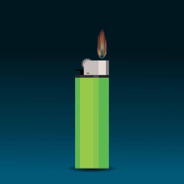 zigarettenanzünder - feuerzeuggas stock-grafiken, -clipart, -cartoons und -symbole