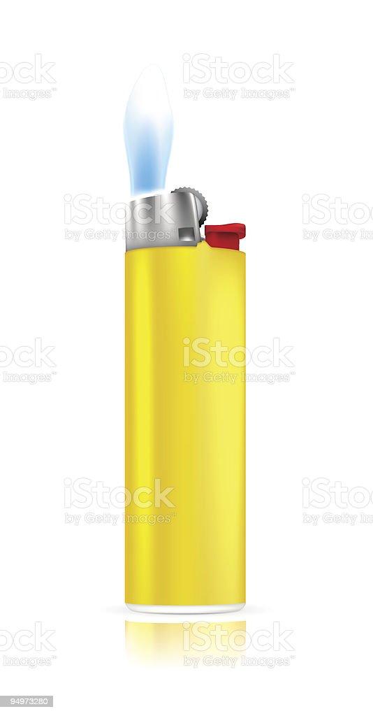Cigarette Lighter royalty-free stock vector art