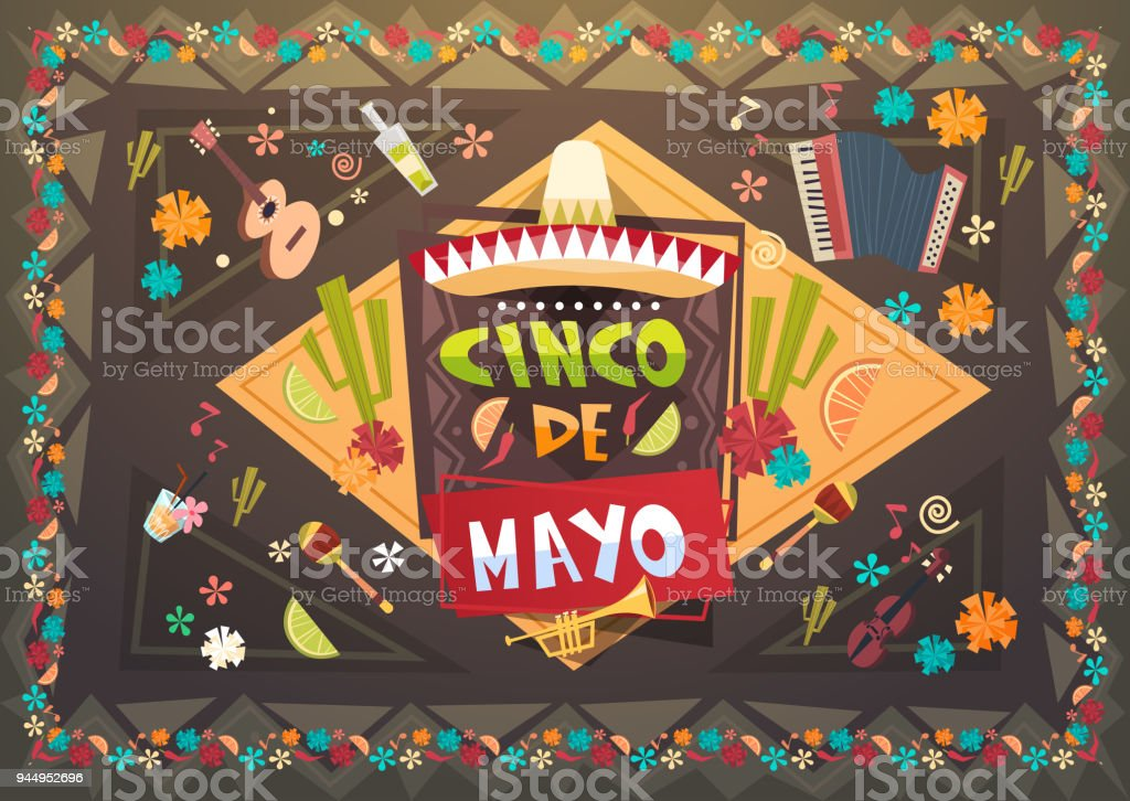 Cinco de mayo festival background mexican holiday greeting card cinco de mayo festival background mexican holiday greeting card background royalty free cinco de mayo m4hsunfo