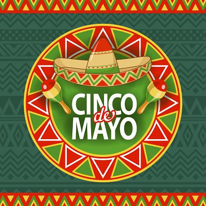 Cinco De Mayo Hat Celebration