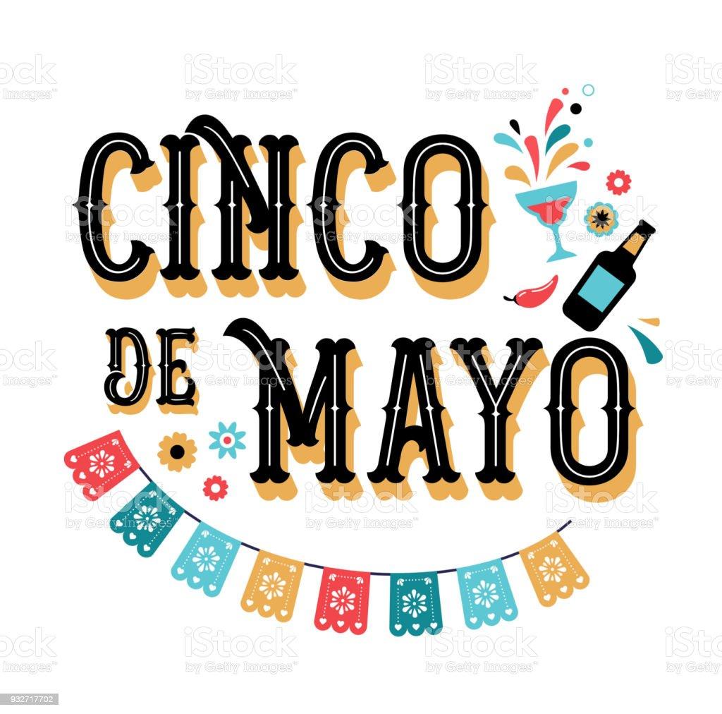 Cinco De Mayo May 5 Federal Holiday In Mexico Fiesta ...