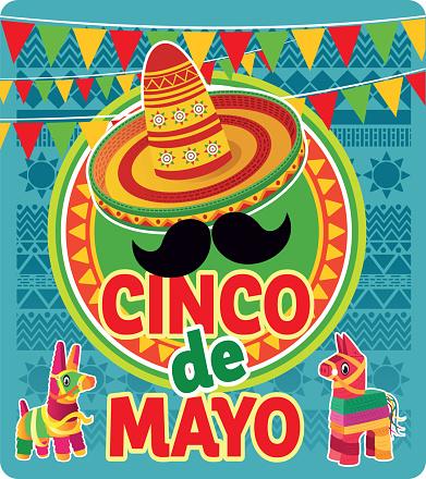 Cinco de Mayo - May 5, federal holiday in Mexico, Viva Mexico
