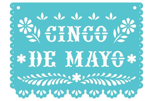Cinco de Mayo Mexican Banner