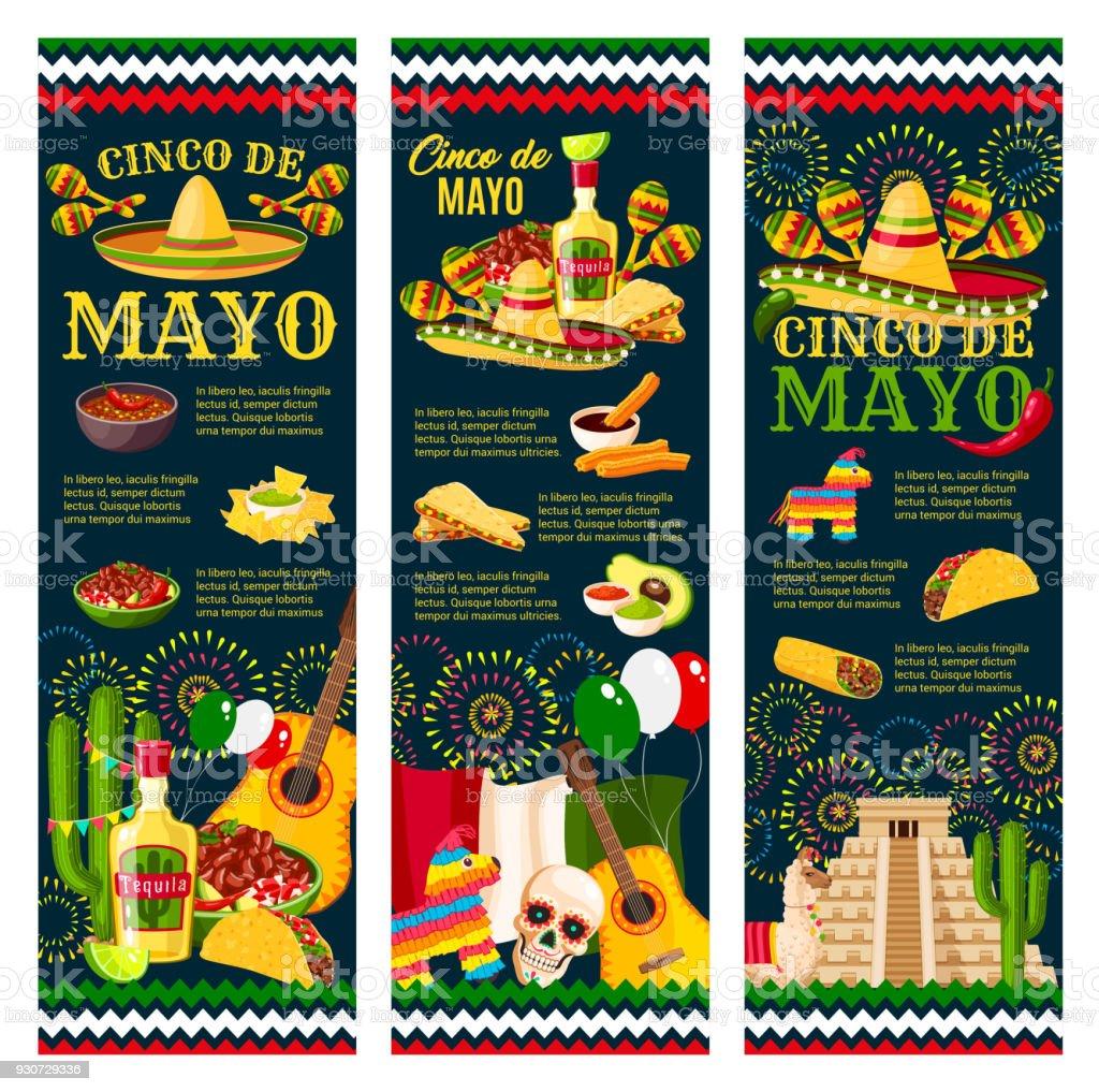 Cinco de mayo mexican festival greeting banner stock vector art cinco de mayo mexican festival greeting banner royalty free cinco de mayo mexican festival greeting m4hsunfo