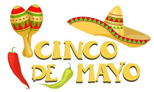 Cinco de Mayo Mexican Festive banner