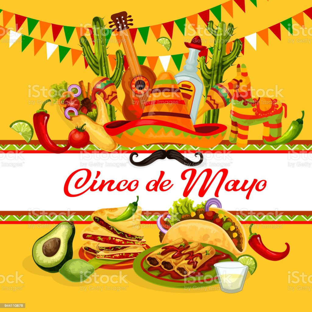 Cinco de mayo mexican holiday greeting card design stock vector art cinco de mayo mexican holiday greeting card design royalty free cinco de mayo mexican holiday m4hsunfo