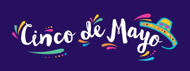 Cinco De Mayo, mexikanischer Feiertag, Grußkarte, Poster und banner – Vektorgrafik