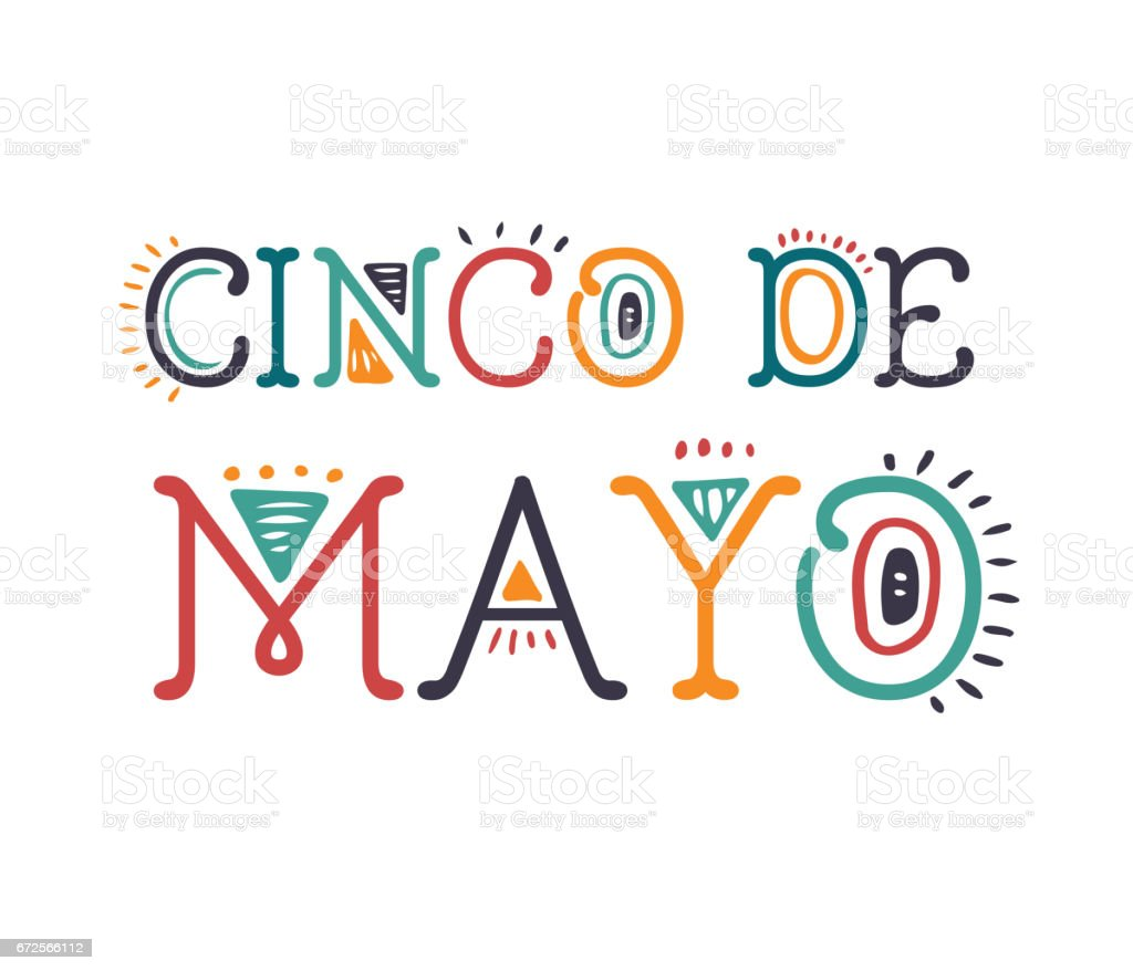 Cinco de Mayo, Mexican holiday, greeting card, poster and banner vector art illustration