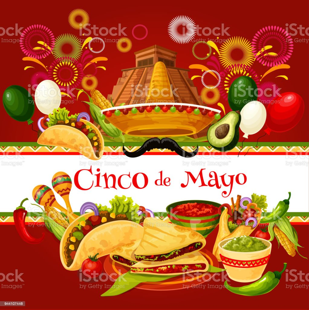 Cinco de mayo mexican holiday greeting card stock vector art more cinco de mayo mexican holiday greeting card royalty free cinco de mayo mexican holiday greeting m4hsunfo