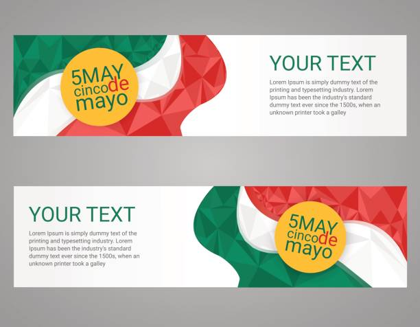 cinco de mayo poster. greeting card mexican holiday - cinco de may stock illustrations, clip art, cartoons, & icons