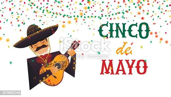 istock Cinco De Mayo poster. 670693248