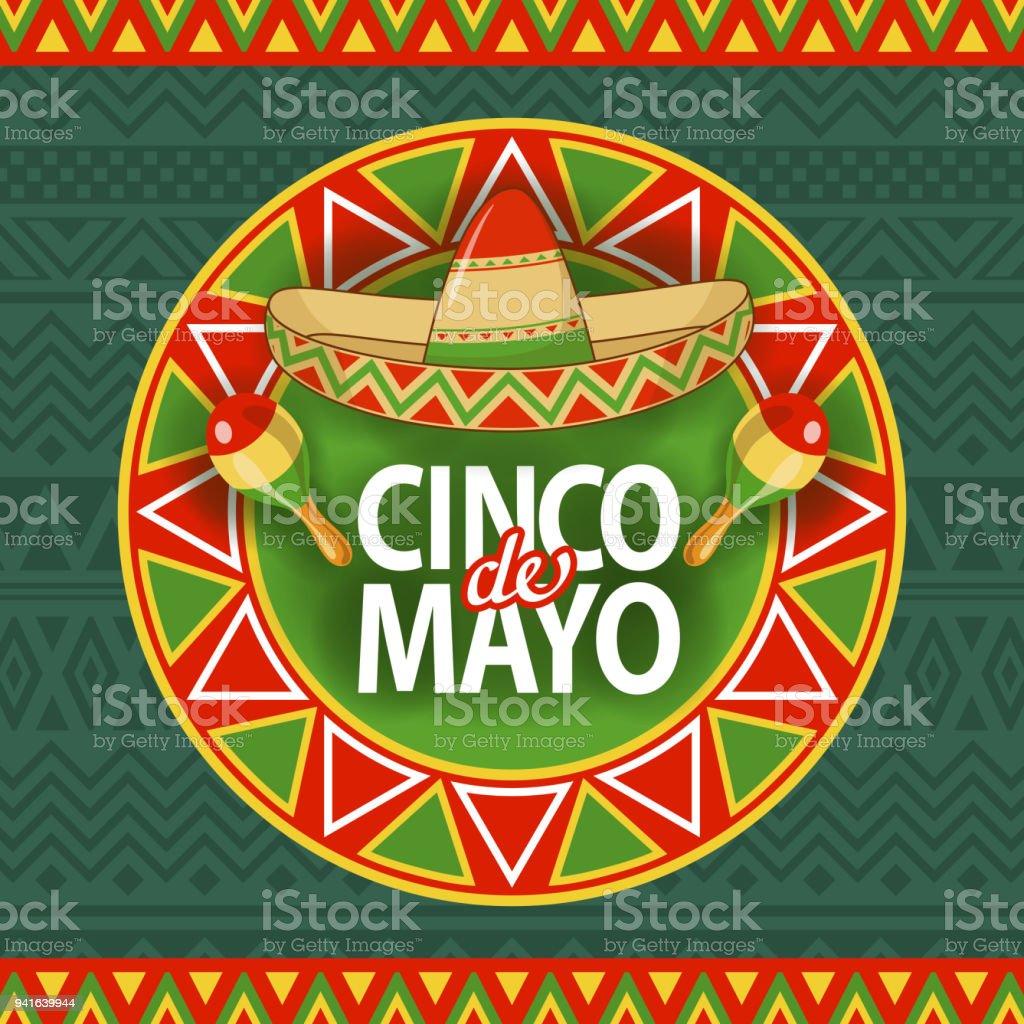 Cinco De Mayo Sombrero Celebration