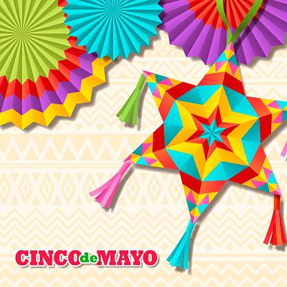 Cinco De Mayo Star Pinata