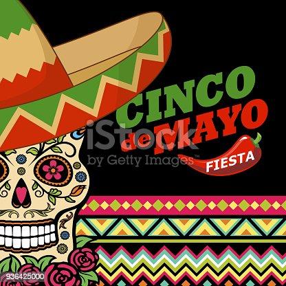 Cinco De Mayo Sugar Skull Party