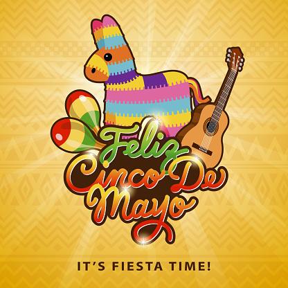Cinco May Pinata Party