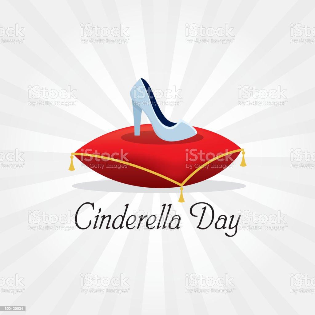 Cinderella-Tag – Vektorgrafik