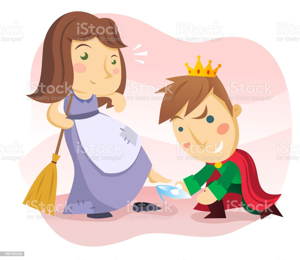 Cinderella royalty-free cinderella stock vector art & more images of adult