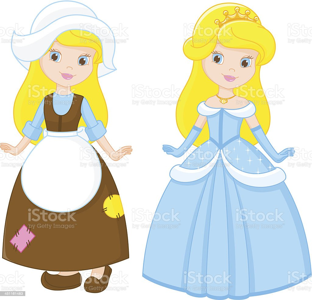 Cinderella Stock Vector Art More Images Of Baby 451161483