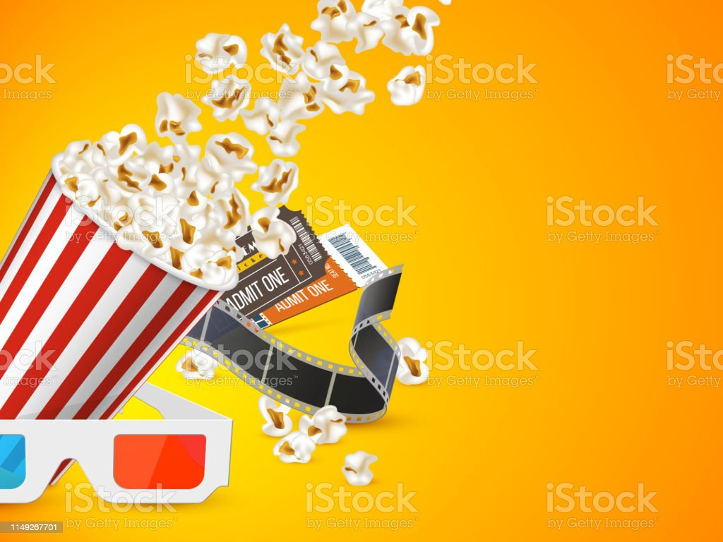 Cinema And Movie Poster Design Stock Illustration Download Image Now Istock