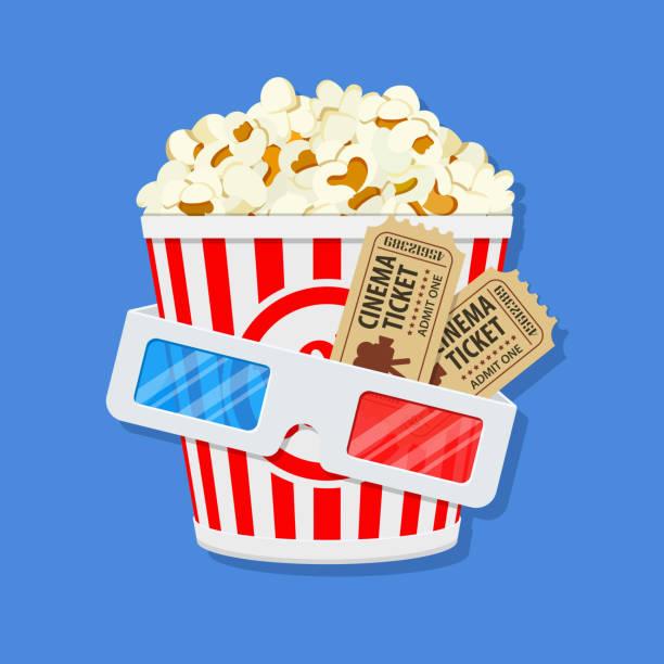 kino und film-zeit - markenbrillen stock-grafiken, -clipart, -cartoons und -symbole