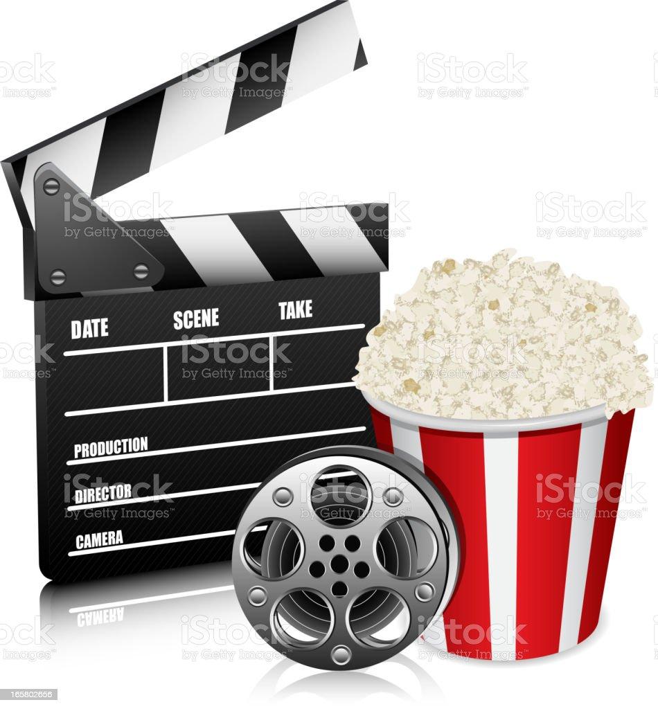 Cinema concept royalty-free stock vector art