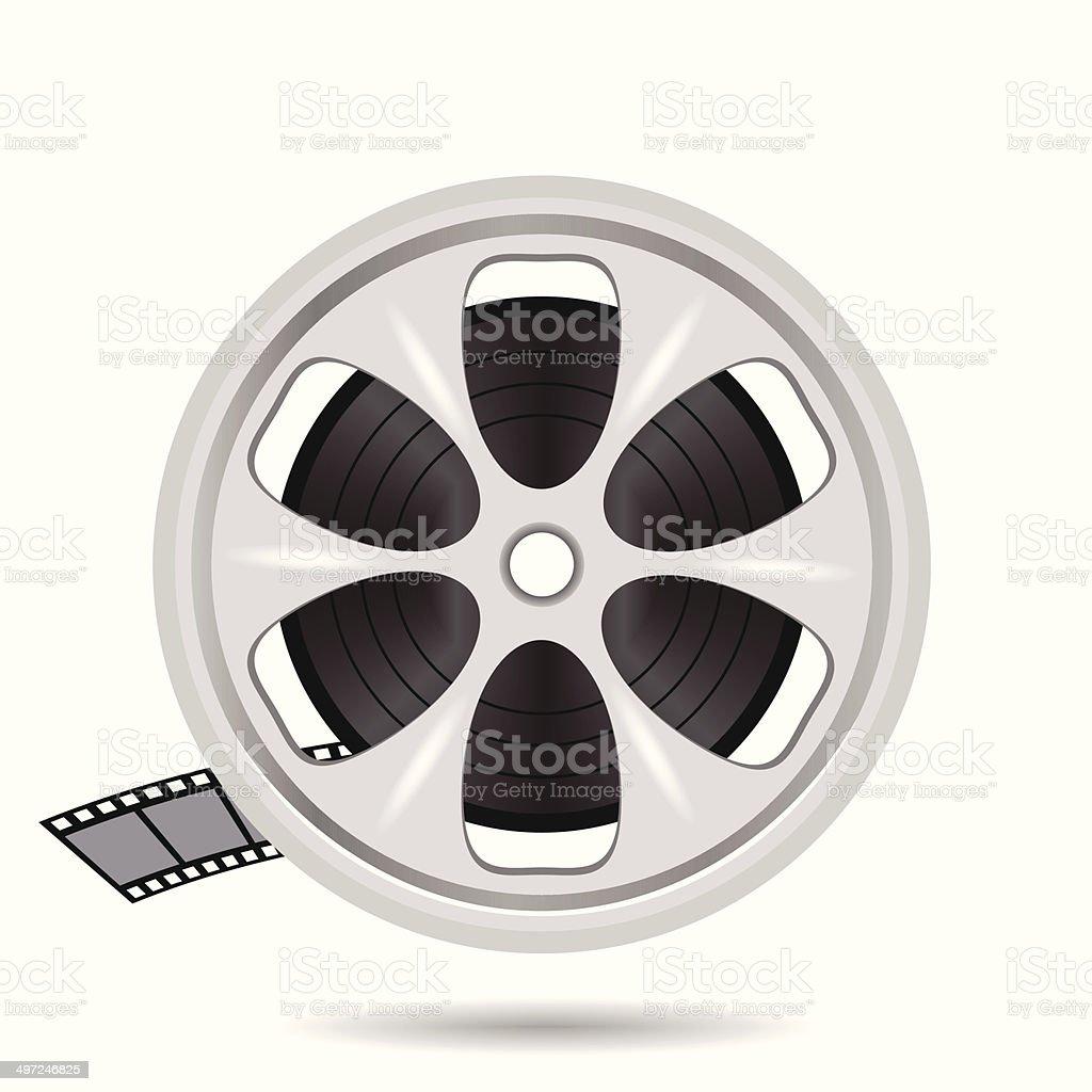 映画フィルムテープのディスク からっぽのベクターアート素材や画像を