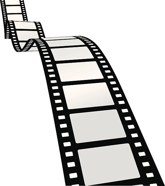 cinema filmstrip [VECTOR] vector art illustration